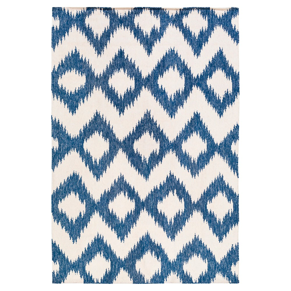 Blue Solid Woven Area Rug - (9'X13') - Surya