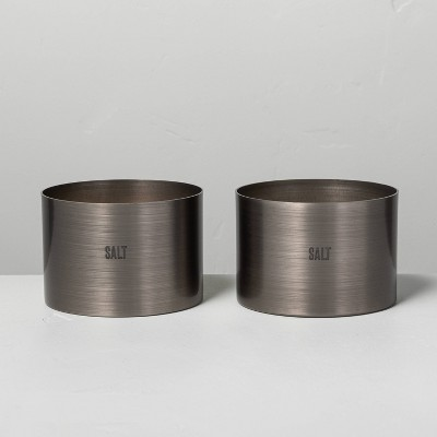 5oz Salt Brushed Tin Candle - Hearth & Hand™ with Magnolia