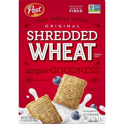 Shredded Wheat Spoon Size Breakfast Cereal - 16.4oz - Post