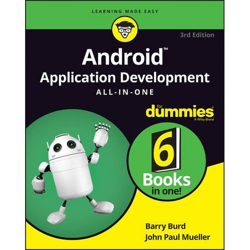 Android Application Development All-In-One for Dummies - 3 Edition by  Barry Burd (Paperback) - image 1 of 1