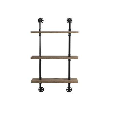 Dylan 3 Layer Floating Shelves Natural - ioHOMES