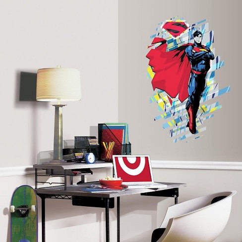 RoomMates Classic Superman Peel and Stick Giant Wall Graphic - image 1 of 2