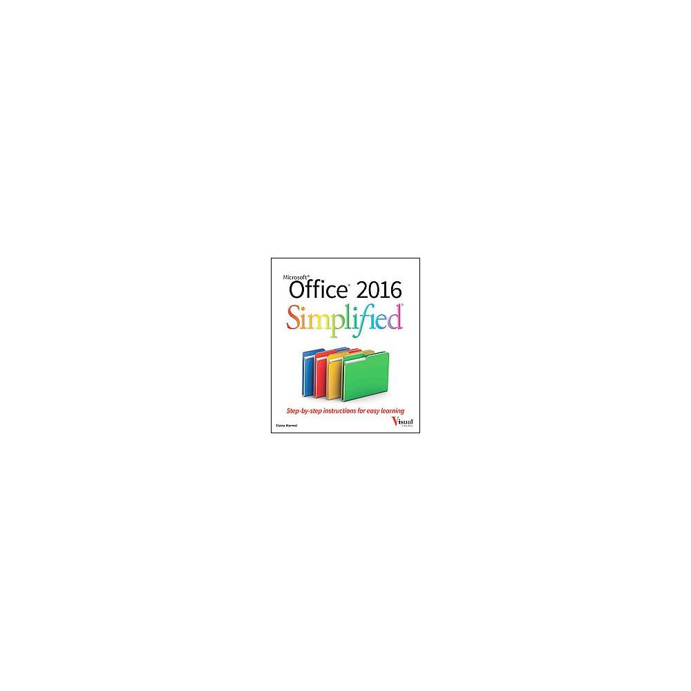 Office 2016 Simplified (Paperback) (Elaine Marmel)