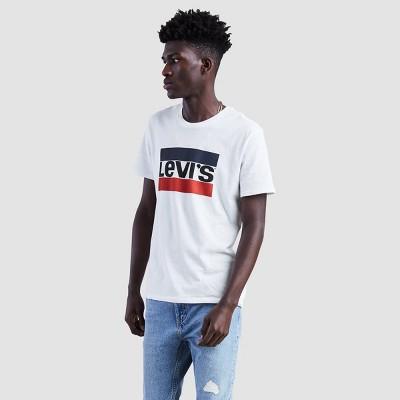 Levi's® Men's Classic Logo Crew Neck T-Shirt - White L