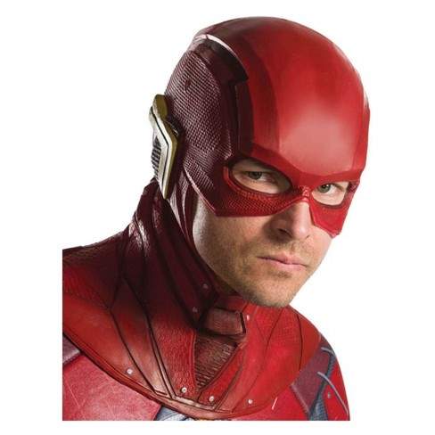 Adult The Flash Overhead Latex Costume Mask - image 1 of 1