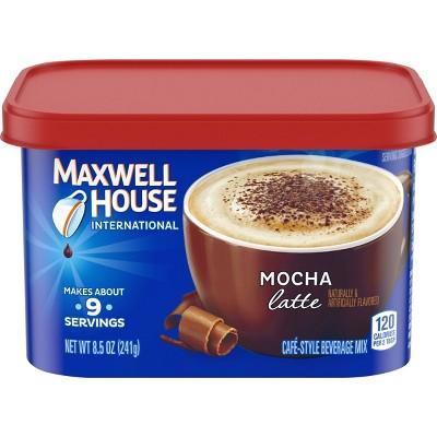 Maxwell House International Latte Mocha Medium Roast Beverage Mix - 8.5oz