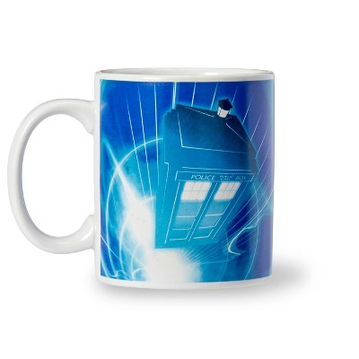Seven20 Doctor Who TARDIS 11-Oz Ceramic Coffee Mug