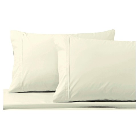Cotton Percale Pillowcase Pair  300 Thread Count - Tribeca Living® - image 1 of 1