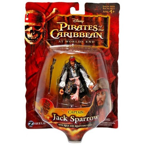 Pirates of the Caribbean At World's End Series 3 Captain Jack Sparrow Action Figure - image 1 of 1