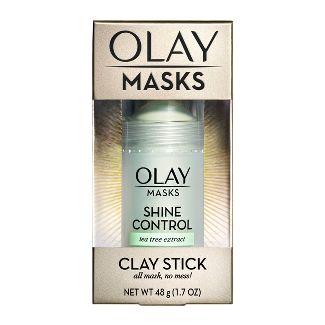 Olay Masks Shine Control Tea Tree Extract Clay Stick - 1.7oz
