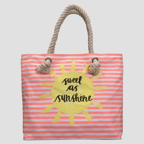 ada200e7b3 Girls  Sweet As Sunshine Tote Bag - Cat   Jack™ Pink   Target