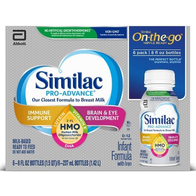Similac Pro-Advance Formula - 6ct/8 fl oz Each