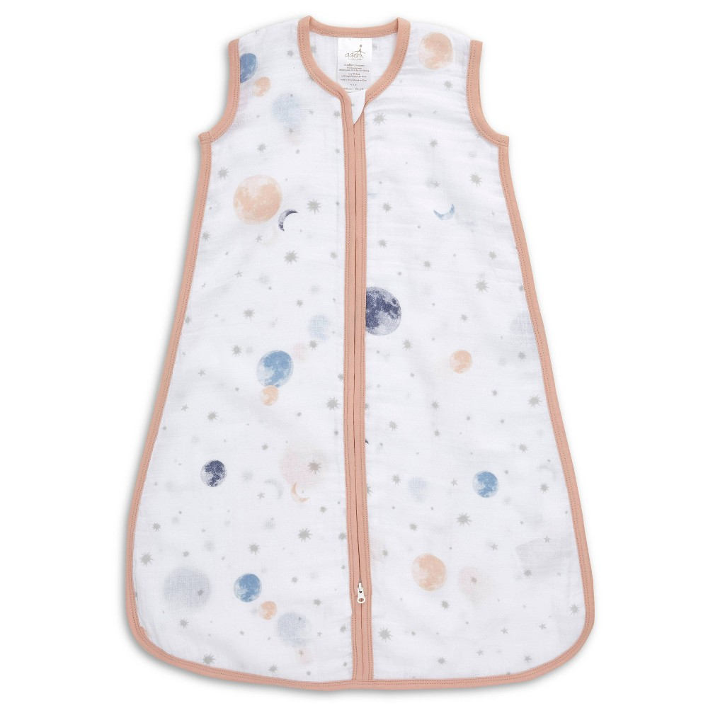 Image of Aden + Anais Essentials Classic Wearable Blanket To The Moon, Infant Unisex, Size: Large