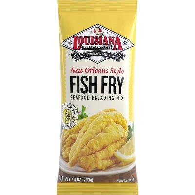 Louisiana New Orleans-Style Fish Fry with Lemon - 10oz
