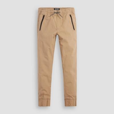 DENIZEN® from Levi's® Boys' Zip Jogger Pants - Khaki