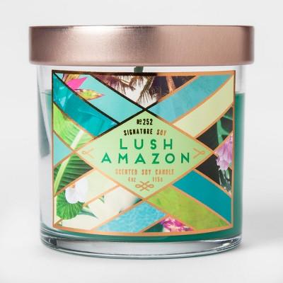 Small Jar Candle Lush Amazon 4oz