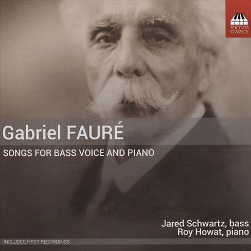Jared schwartz - Faure:Songs for bass voice & piano (CD) - image 1 of 1