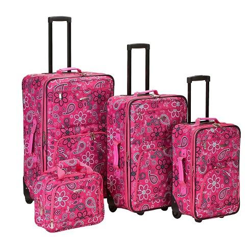 Rockland Nairobi 4pc Expandable Luggage Set - image 1 of 4