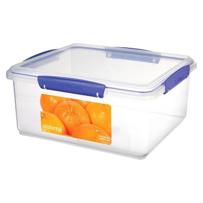 Charmant Sistema Klip It 169.0oz Rectangular Container