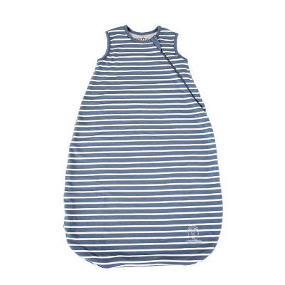 Woolino 4 Season Sleep Sack Basic - Blue 0-6 Months