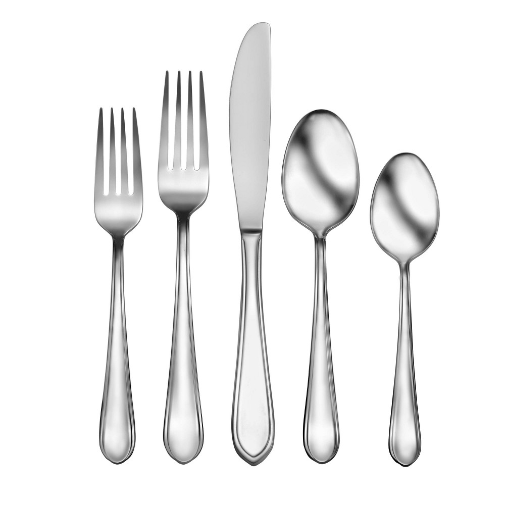 Image of 20pc Stainless Steel Valera Silverware Set - Studio Cuisine