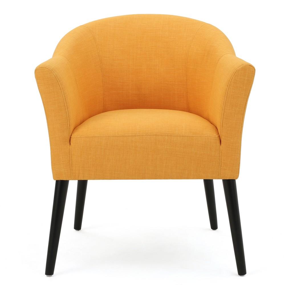 Cosette Armchair Orange Christopher Knight Home