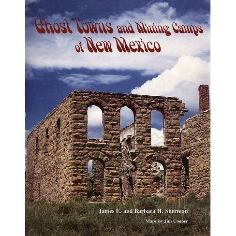 Ghost Towns and Mining Camps of New Mexico - by  James E Sherman & Barbara H Sherman (Paperback) - image 1 of 1