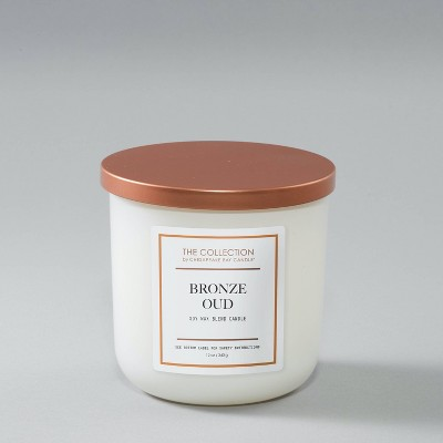 12oz Glass Jar 2-Wick The Collection Bronze Oud Candle - Chesapeake Bay Candle