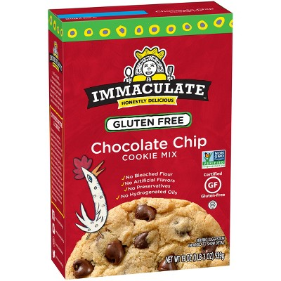 Baking Mixes: Immaculate Gluten Free Chocolate Chip Cookie Mix