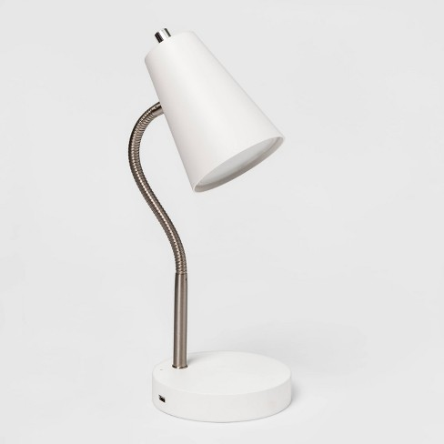 Wireless Charging Table Lamp (Includes Energy Efficient Light Bulb) - Room Essentials™ - image 1 of 2