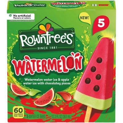 Rowntree Frozen Watermelon Bar - 12.3fl oz/5pk