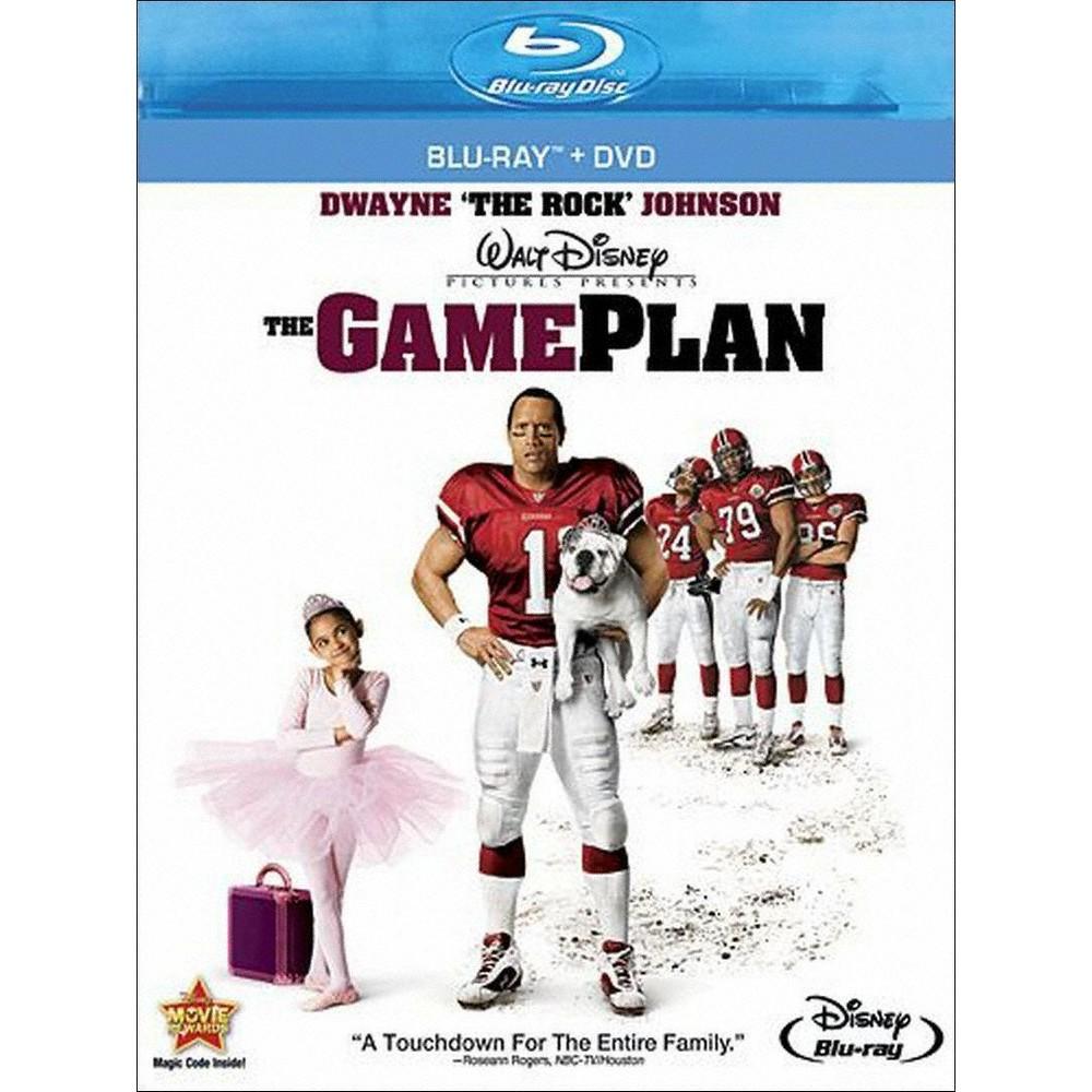 The Game Plan (Blu-Ray/Dvd) (Blu-ray) The Game Plan (Blu-Ray/Dvd) (Blu-ray)