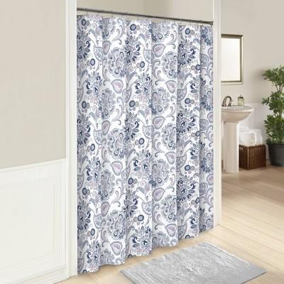 Carlisle Shower Curtain - Marble Hill