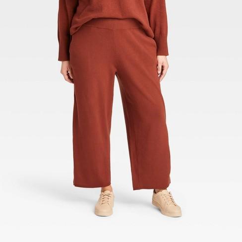 Women's Plus Size Wide Leg Pants - Ava & Viv™ - image 1 of 3