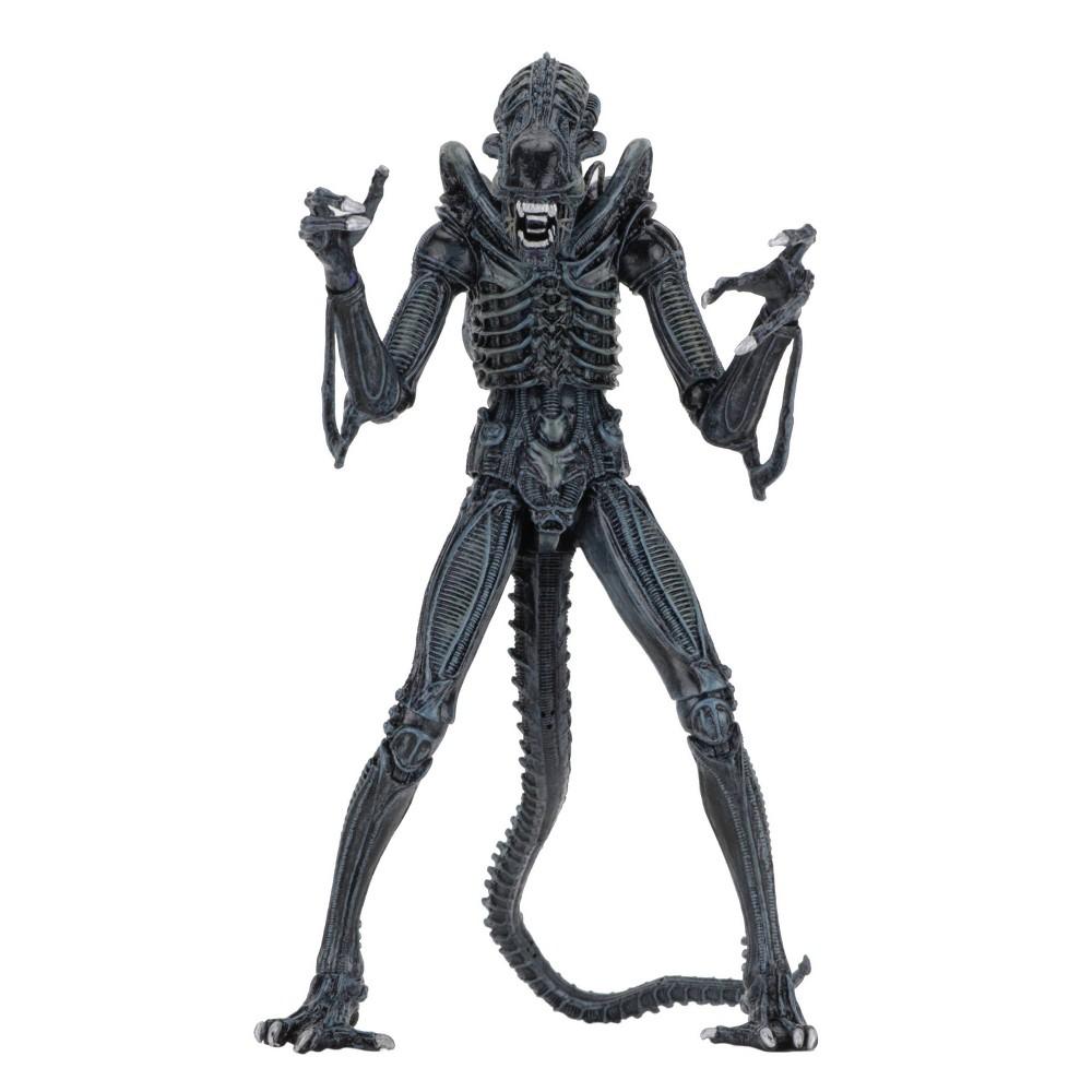 "Image of ""Alien Ultimate Alien Warrior (1986) Blue 7"""" Action Figure"""