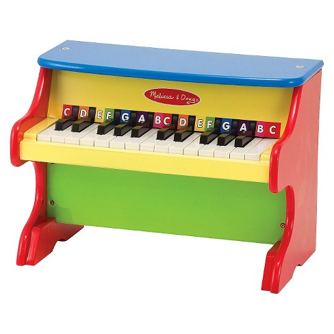 Melissa & Doug® Learn-to-Play Piano With 25 Keys and Color-Coded Songbook of 9 Songs - image 1 of 2