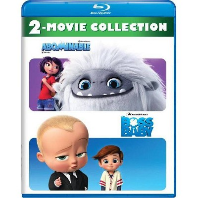 Abominable/The Boss Baby 2-Movie Collection (Blu-ray)