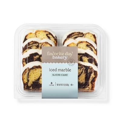 Iced Marble Sliced Loaf Cake - 14.1oz - Favorite Day™
