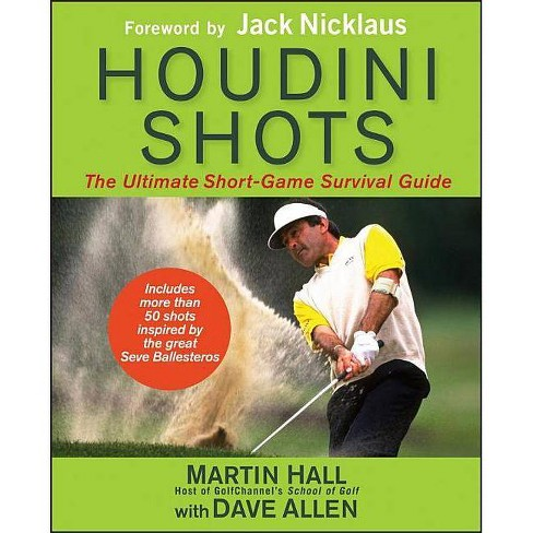 Houdini Shots - by  Martin Hall & Dave Allen (Hardcover) - image 1 of 1