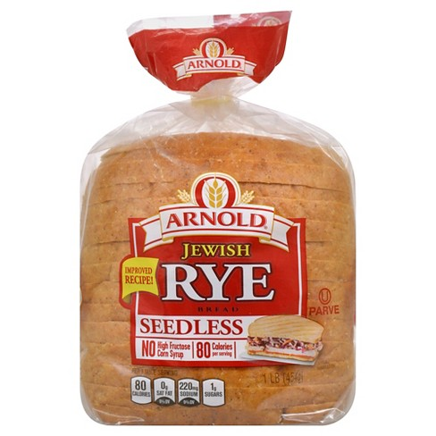 Arnold Seedless Jewish Rye Bread - 1lb - image 1 of 1