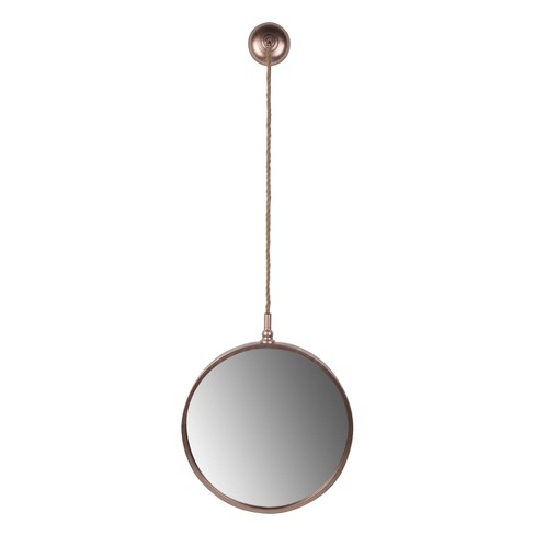 """50"""" Roselle Wall Mirror Rose Gold - A&B Home - image 1 of 3"""