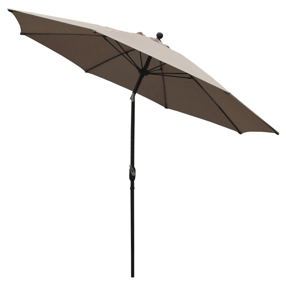 Image of AE Outdoor Market Umbrella 10' - Cast Ash