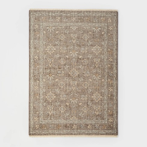 Buena Park Hand Knot Persian Rug Beige - Threshold™ designed with Studio McGee - image 1 of 4