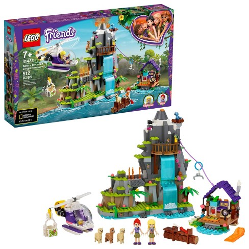 LEGO Friends Alpaca Mountain Jungle Rescue Exciting Building Toy for Creative Fun 41432 - image 1 of 4