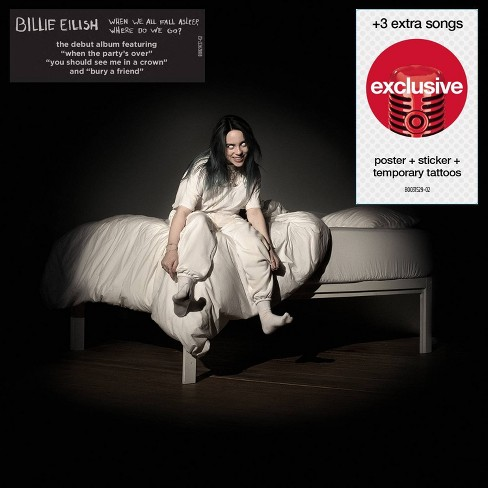 Billie Eilish - WHEN WE ALL FALL ASLEEP, WHERE DO WE GO? (Repack) (Target Exclusive, CD) - image 1 of 1
