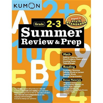 Summer Review and Prep 2-3 - (Paperback)