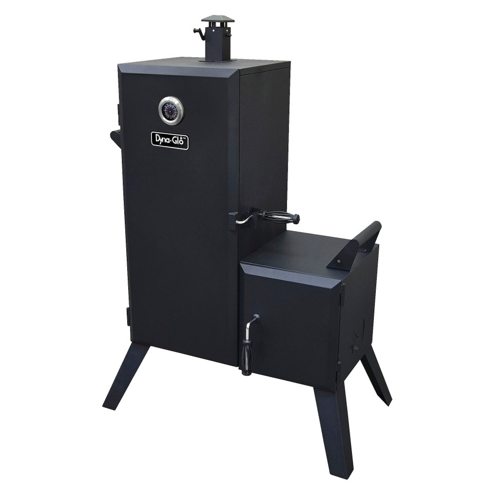 Dyna-Glo Vertical Offset Charcoal Smoker, Black 15150380