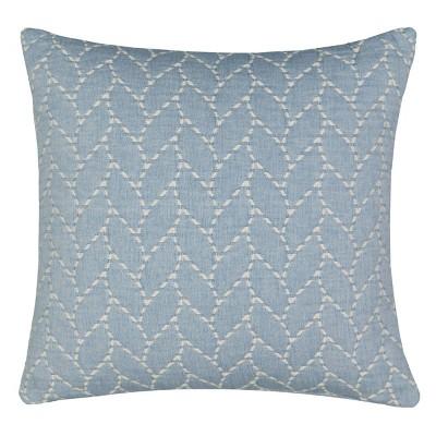 """Waverly Cartona 18""""x18"""" Throw Pillow Blue"""