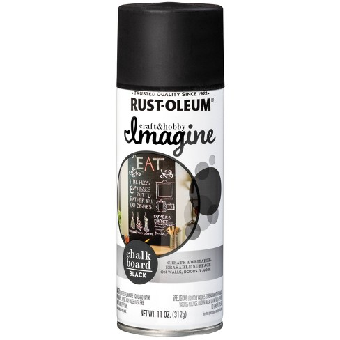 Rust-Oleum Imagine Chalkboard Black Spray Paint 11oz