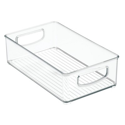 Storage Bins 3pk Clear - InterDesign